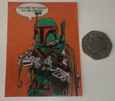 Star Wars Boba Fett Pop Art Vinyl Sticker
