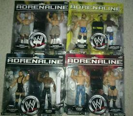 WWE figures - Adrenaline Series (New/Sealed)