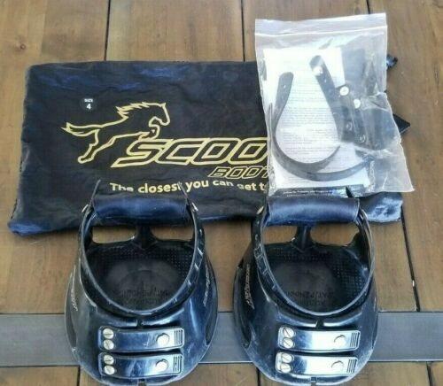 Scoot Boots Size 4