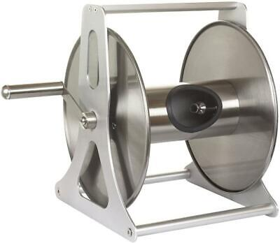 Garden Outdoor Stainless Steel Wall Mounted Freestanding Professional Hose Reel