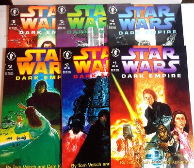 WAREHOUSE FIND! Original 1991 Star Wars Dark Empire Comic Book Series-1st (Warehouse Dark)