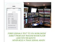 FOREX SIGNALS VIA TEXT LIVE FROM OUR LONDON TRADING ROOM FLOOR