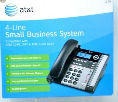 Att 1070 4-line Small Business Phone System Compatible With 1040 1080