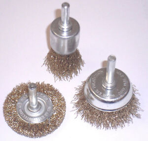 3-PIECE-ROTARY-WIRE-BRUSH-SET-ATTACHMENTS-FOR-DRILLS-SANDING-DESCALING-ETC
