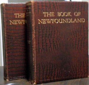 Book of Newfoundland  Vol  one  &  two