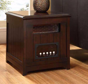 NEW - Muskoka 1500W Infrared Heater Side Table (Free Delivery)!