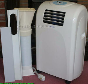 PORTABLE 8000 BTU AIR CONDITIONER climatiseur portatif AC 17°C