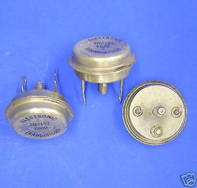 2n2153 Lot Of 3 Pnp Germanium Transistor