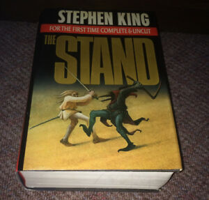 "Stephen King Hard Cover w/ Dust Jacket ~ ""The Stand"" (1990)  HC"