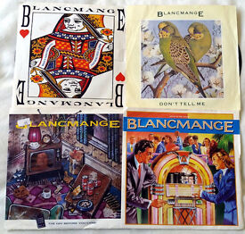"""Joblot 7"""" Singles x 4 """"Blancmange"""" Not Tested (All Listed)"""