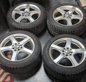 Mini Cooper Winter Rim and Tire Package  (Set of 4)