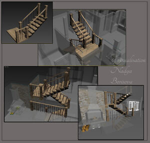 3D architectural visualizations/Illustration Architecturale 3D West Island Greater Montréal image 4