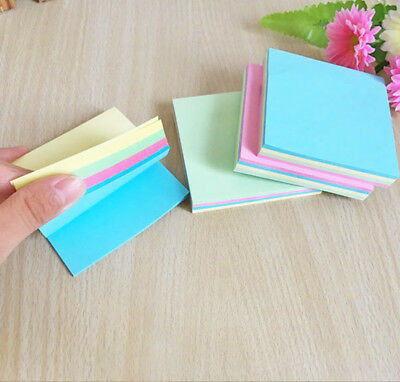 100 pages Sticky Note Notebook Memo Pad Bookmark Sticker Notepad Hot US Note Memo Pad Notepad
