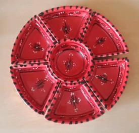 Ceramics servings platter