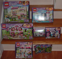 Lot de 9 lego Friends Ranch Lighthouse Olivia's House Pets Neufs