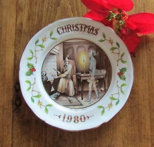 "1980 Aynsley Christmas Plate ""Marleys Ghost"" - A Christmas Carol Kitchener / Waterloo Kitchener Area image 1"
