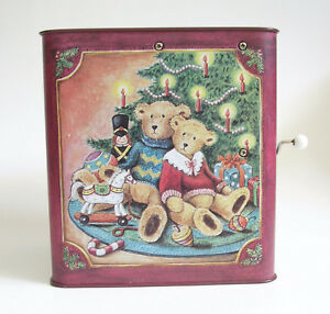 Vintage Russ Christmas Teddy Bear Jack in the Box Kitchener / Waterloo Kitchener Area image 5