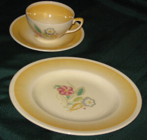 SUSIE COOPER CUP AND SAUCER and PLATE