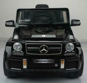 Officially Licensed 12V Mercedes Benz Baby / Kid / Child Ride-On Leather Seat, Doors, 2.4Ghz Parent Remote, Mp3 Input