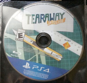 Tearaway Unfolded for PS4 - Disc Only