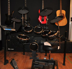 electronic drum Alesis DM-10 + Iron cobra powerglide HP900