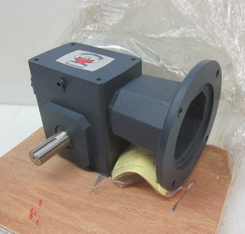 NEW Grove Gear Iron Man Worm Gear Box Speed Reducer 56 7.5:1 2.79-Hp 692-In-Lbs