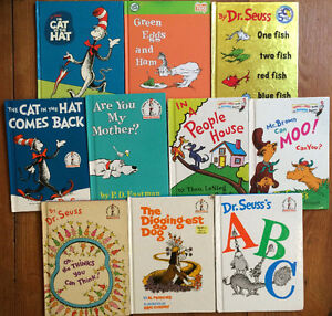 DR SEUSS BOOKS! $4 each or all 10 for $30