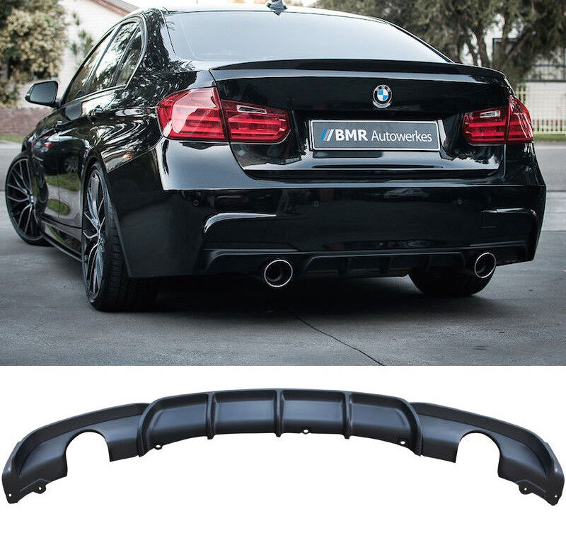 BMW F30 335I SEDAN M PERFORMANCE REAR DIFFUSER