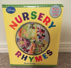Children Nursery Rhymes Book with CD