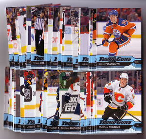16-17 UD SERIES ONE COMPLETE SET WITH YOUNG GUNS RCS (MATTHEWS) Strathcona County Edmonton Area image 2