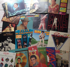 22 elvis presley vinyls records albums