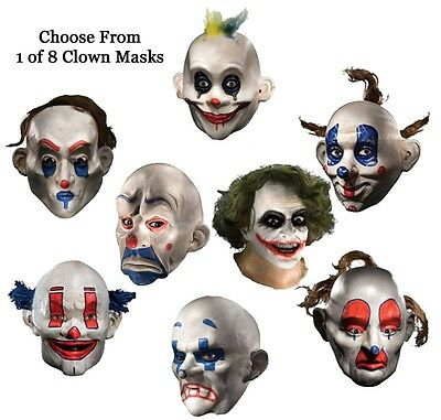Adult Batman The Dark Knight Joker Clown Costume Mask (Dark Knight Clown Mask)