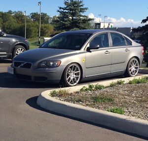 2005 Volvo S40 2.4i Sedan NO ACCIDENTS, ON COILOVERS.