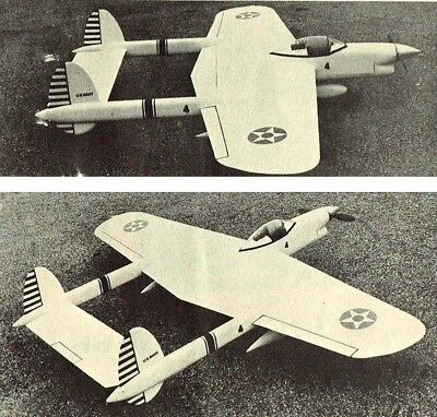 "Model Airplane Plans (UC): CRUSADER 52"" Stunt for .35 Engine by Charles Mackey"