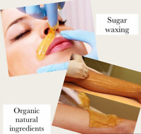 Sugaring waxing service for women