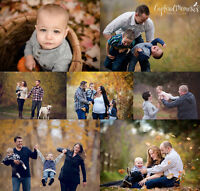 "NOW BOOKING ""Outdoor Fall Family Sessions""!!"