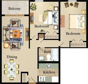 Newly Renovated 2 Bedroom, 2 Bathroom Apartments - Close to UWO London Ontario image 11