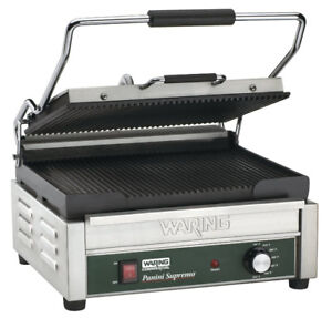 100% NEW WARING PANINI GRILL & COMMERCIAL TOASTERS 4 SALE