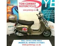 Piaggio Vespa 50 LX, 2012(12), ONLY 235 MILES (375 KMS), 16 YR OLD LEGAL, £2495