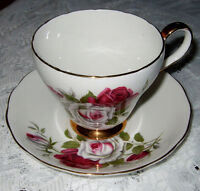 ROYAL ADDERLEY BONE CHINA TEA CUP AND SAUCER