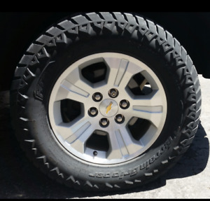 USED 2015 Chevrolet Silverado Factory OEM Rims