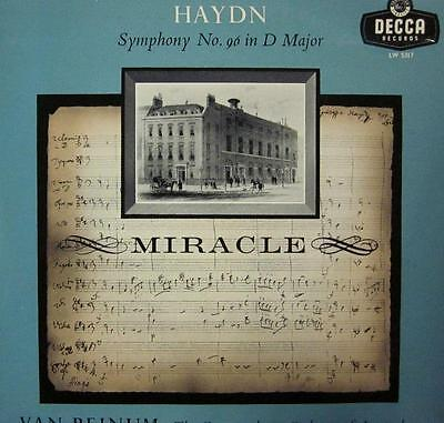 "Haydn/Beinum(10"" Vinyl)Miracle-UK-LW 5317-Decca-Ex/Ex"