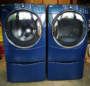 Kenmore Elite Steam Washer and Dryer matching set $595