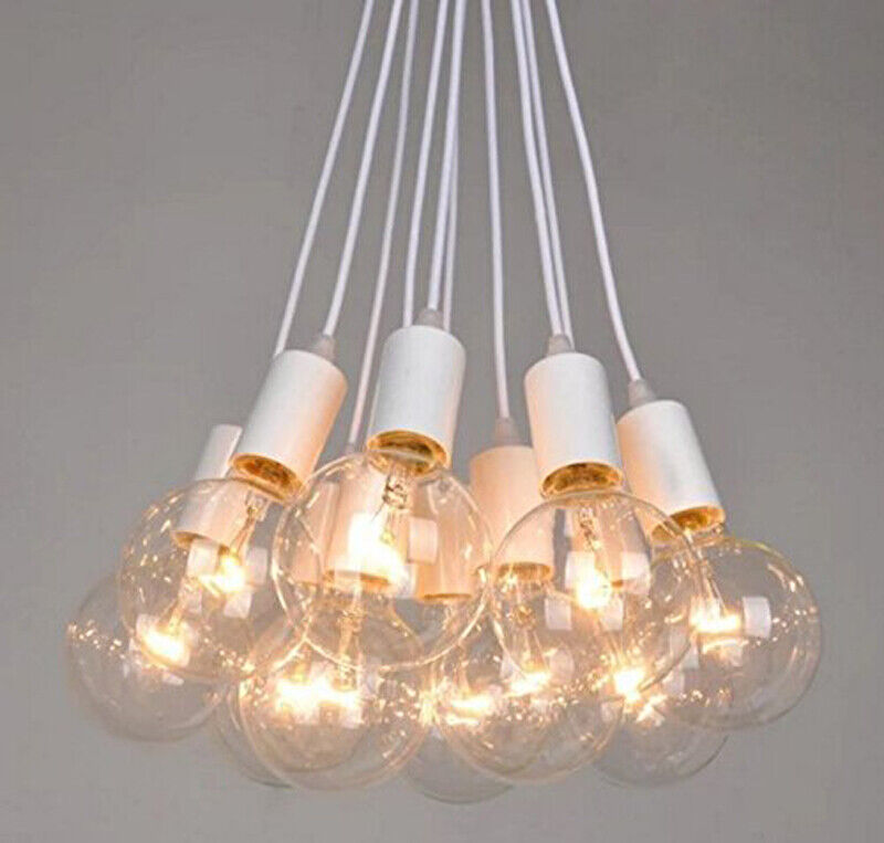 Modern Chic LED Pendant Light DIY Adjustable Spider Ceiling ...