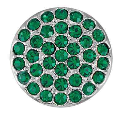 GINGER SNAPS™ RITZY EMERALD Jewelry - BUY 4, GET 5TH $6.95 SNAP FREE