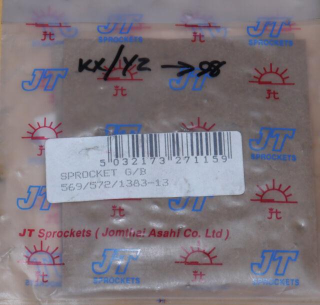 Kawasaki KX250 1987-1998, KX500 1987-2001 | Yamaha YZ250 1985-1998 JT f/spkt 13T