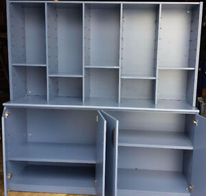 Large Blue cabinet - Made in Canada