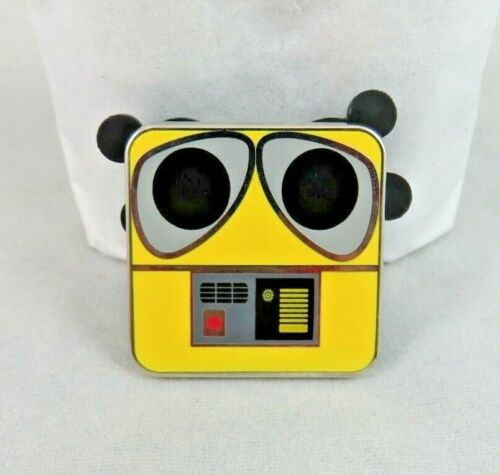 Disney Store Pin - Disney / Pixar Character Squares Pin Set - WALL-E