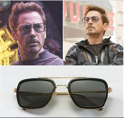 For Men's Sunglasses Square Avengers 3 Iron Man Downey Celebrity Style Fashion (Mens Celebrity Fashion)