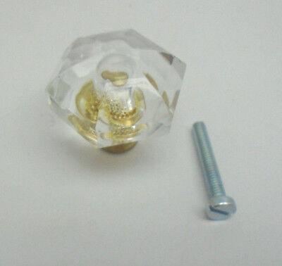 (Amerock BP733CS Crystal Traditional Class 1-3/8